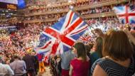 Das Konzert zur Last Night of the Proms beendet alljährlich die Konzertreihe der Proms in der Royal Albert Hall, London (Archivbild).