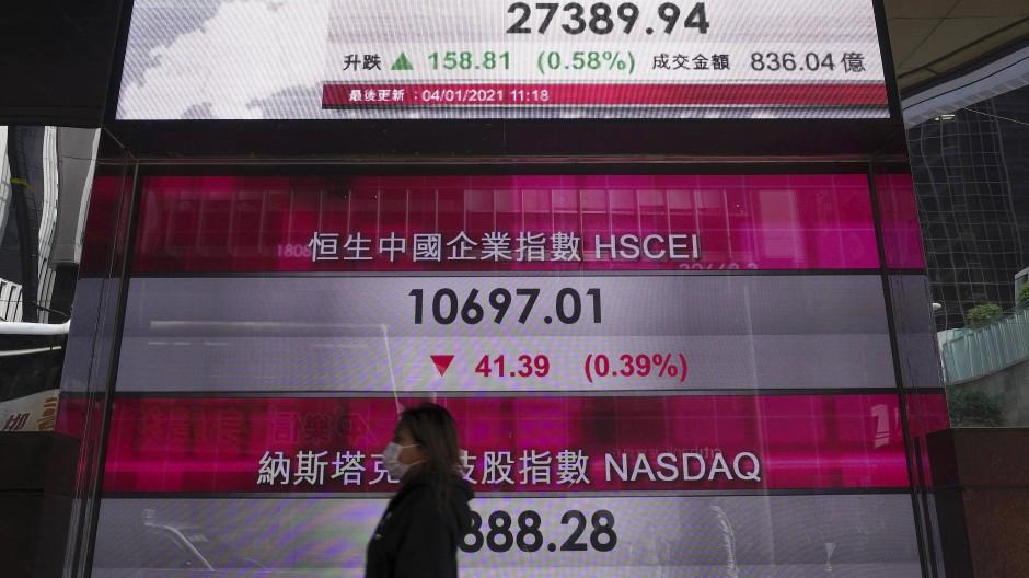 Anfang März lag der Index Nasdaq Composite unter dem Wert vom Jahresbeginn: Ein Reiseveranstalter soll Hongkongs verpatzte Börsensaison nun retten.