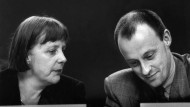 """Merz fand Merkel """"total sympathisch"""". Und sie arbeiteten gut zusammen."""