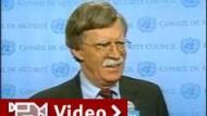 UN-Botschafter Bolton hört auf