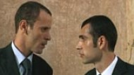 "Film-Kritik: Ali Suliman und Kais Nashef in ""Paradise Now"""