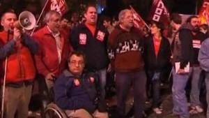 Gewerkschaften wollen Spanien blockieren