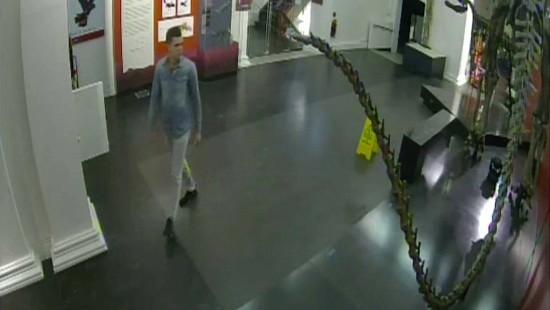 Mann bricht in Museum in Sydney ein