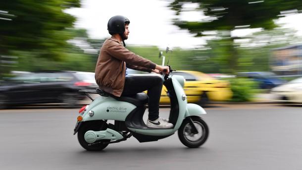 Elektrische Scooter und Motorräder bewähren sich nicht