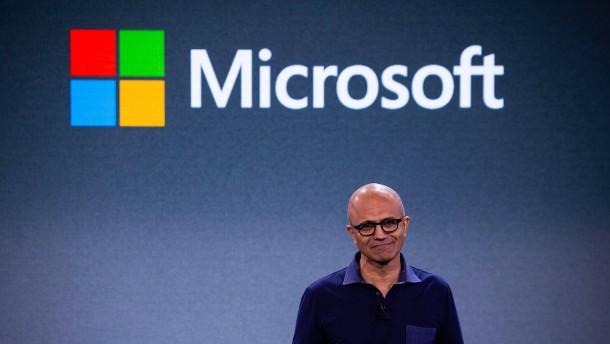 Microsoft gibt wieder den Ton an