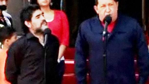 """Chávez bezeichnet Uribe als """"Kriegstreiber"""""""