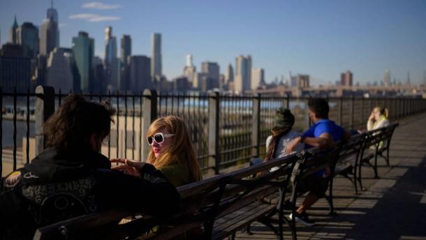 New York erwacht zum Leben