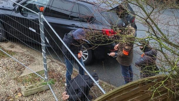 Terrorverdächtiger noch in Rheinland-Pfalz in Haft