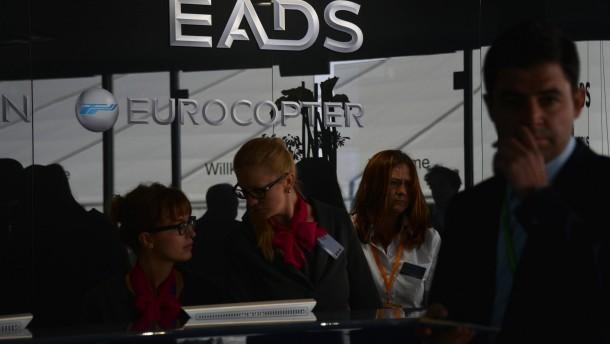EADS und BAE ringen um Staatsbeteiligungen