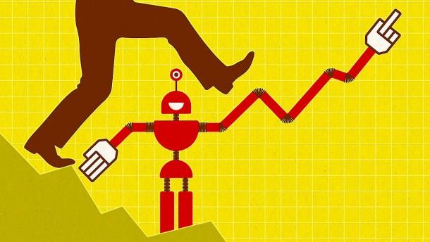 Geld anlegen mit dem Roboter