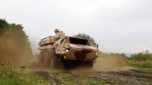 Waffen aus Panzer gestohlen