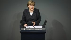 Merkel für Rückkehr zur Vorratsdatenspeicherung