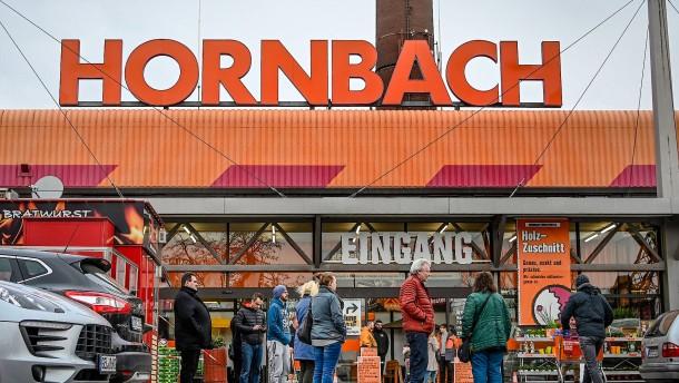 Hornbach peilt Rekordergebnis an