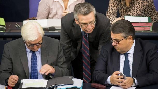 De Maizière wirft SPD mangelnde Kooperationsbereitschaft vor