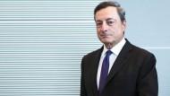 Die Amtszeit von EZB-Präsident Mario Draghi endet am 31. Oktober.
