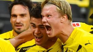 Und wieder ist Dortmund der Bayern-Verfolger