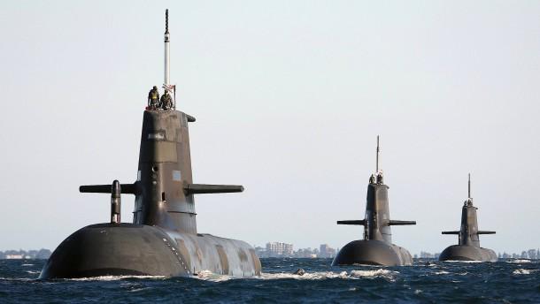 Nachbeben nach gescheitertem U-Boot-Handel