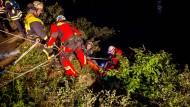 Glück im Unglück: Ein 31 Jahre alter Fotograf überlebt den Sturz von der Loreley.
