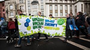 Die Schülerdemos stellen den Kohlekompromiss infrage