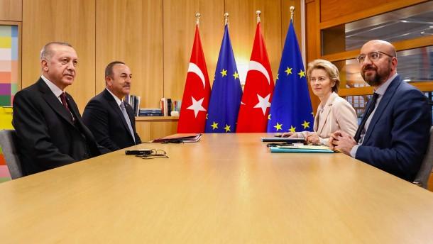 EU-Spitzen gehen auf die Türkei zu