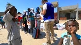 Flüchtlinge als Sklaven verkauft