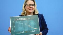 Ab 2050 negative Treibhausgas-Emissionen