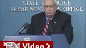 Präsident Katzav stimmt Knesset-Auflösung zu