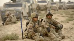 Regierung gegen deutsche Bodentruppen in Syrien