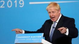 Boris Johnson will keinen Krieg gegen Iran unterstützen