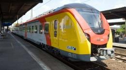 Hessische Landesbahn auf ungewohnten Gleisen