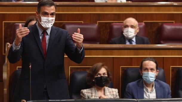 Spanien verlängert Gesundheitsnotstand bis Mai 2021