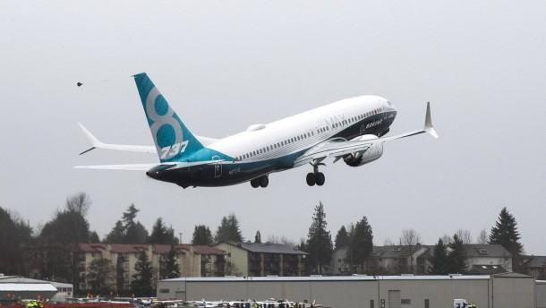 Aktienkurs von Boeing unter Druck