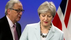 Viel Lob für Mays diplomatische Raffinesse