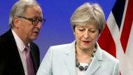 Es waren langwierige Verhandlungen, doch nun zeichnet sich ein erster Erfolg für Theresa May ab.