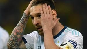 Fußballverband sperrt Messi für drei Monate