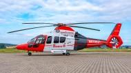 Technische Meisterleitung: der Hubschrauber der Johanniter-Luftretung