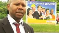 Schwarzer CDU-Politiker von NPD bedroht