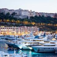 Wo sich die Schönen und Reichen tummeln: der Hafen von Monaco