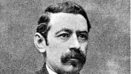 Zeitgenössisches Porträt von Aristide Briand (1862-1932). Zwischen 1909 und 1929 war er elfmal französischer Regierungschef und 23 mal Minister.