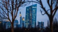Mit ihren Versuchen, Wachstum zu erzeugen, bisher mäßig erfolgreich: die Europäische Zentralbank