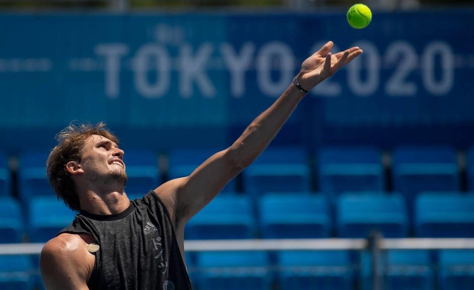 Tennis: Alexander Zverev, 24 Jahre