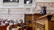 Tsipras wirft IWF kriminelle Politik vor
