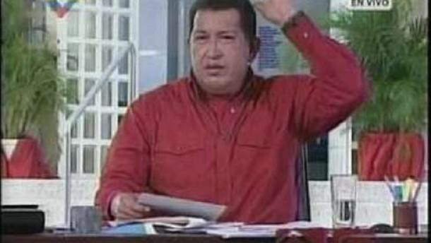 Chávez rückt Kanzlerin in politische Nähe zu Hitler