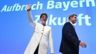 """?Es ist alles ein zartes Pflänzchen"""", so Markus Söder auf dem CSU-Parteitag."""