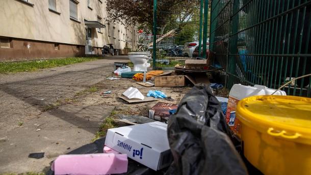 Mit Sonderermittlern gegen Kriminalität in der Ahornstraße