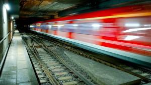 Brand im S-Bahn-Tunnel Frankfurt
