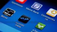 Apps von Banken und Fintechs