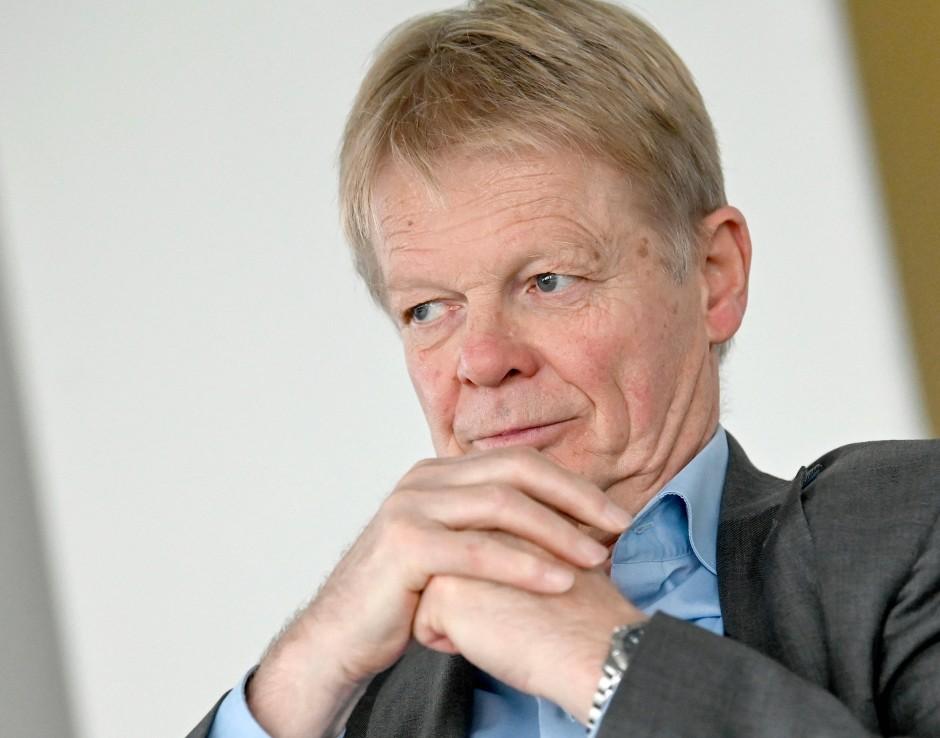 Der DGB-Vorsitzende Reiner Hoffmann argumentiert gemeinsam mit Habeck für längere Tilgungsfristen bei coronabedingten Krediten.