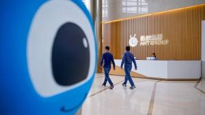 Warum China Ant und Alibaba streng reguliert