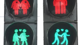 Frankfurt bekommt homosexuelles Ampelpärchen